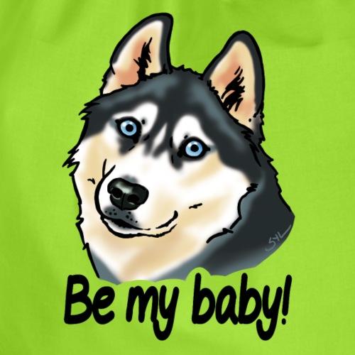 Chien husky Be my baby! - Sac de sport léger