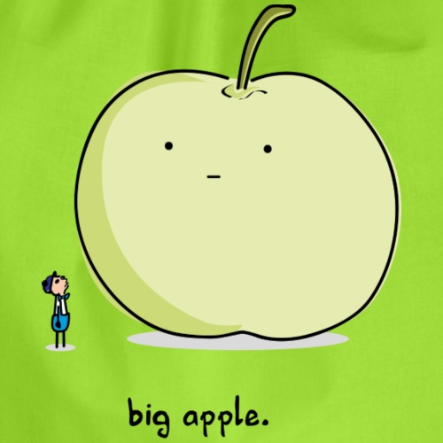 Big Apple - Drawstring Bag