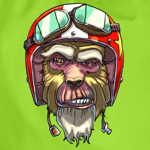 On n'apprend pas à un vieux singe... - Sac de sport léger