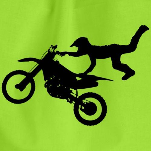 Motocross Freestyle Männer Frauen - Turnbeutel