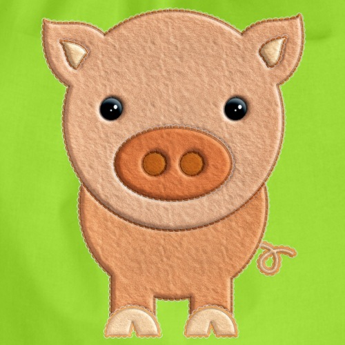 Cerdito de peluche Pig Cerdo - Mochila saco