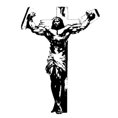 JESUS FERTIGFERTIG cut - Turnbeutel