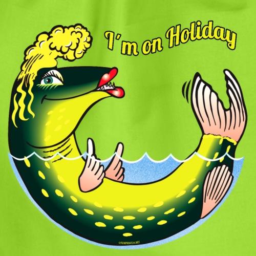 10-39 LADY FISH HOLIDAY - Haukileidi lomailee - Jumppakassi