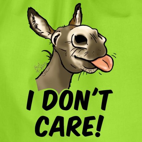 Ane I don't care! (texte noir) - Sac de sport léger