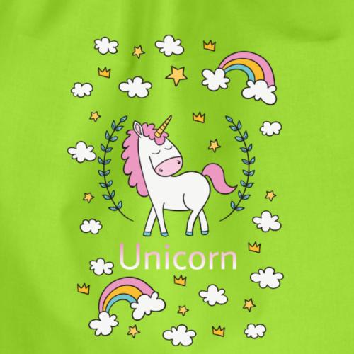 Unicorn - Sacca sportiva