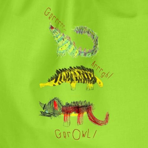 3 dinozaury - Worek gimnastyczny