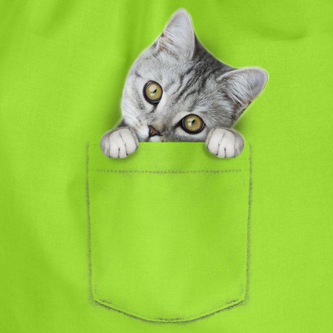 Vorschau: cat pocket - Turnbeutel