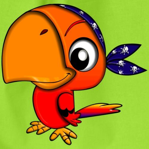 Piraten Papagei - Turnbeutel
