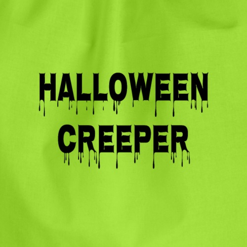 Halloween Creeper - Turnbeutel