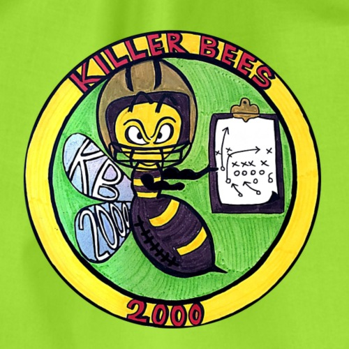 Killer Bees 2000 (Logo) - Turnbeutel