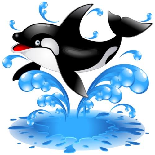 Delfino - Sacca sportiva
