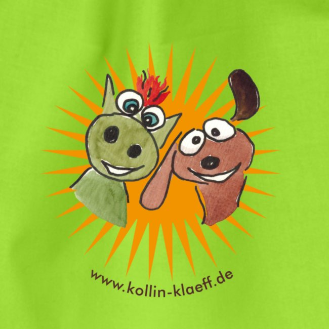 Kollin Kläff - Hund mit Drache