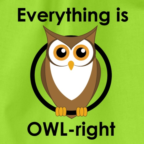 OWL right - Turnbeutel