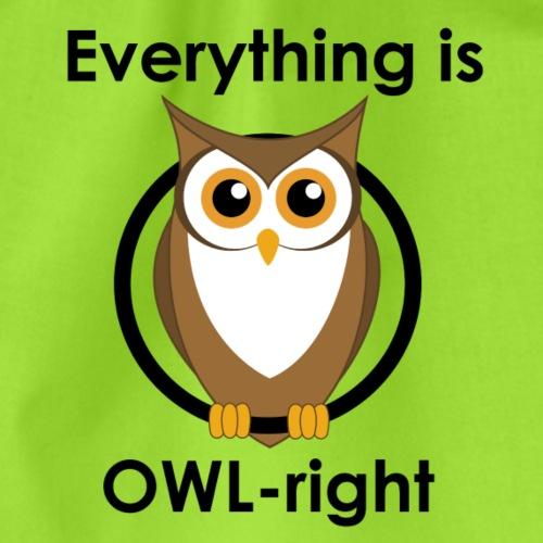 OWL right - Turnbeutel