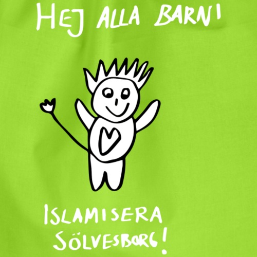 Islamisera Sölvesborg! - Gymnastikpåse