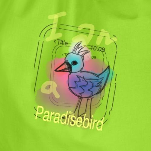Paradisebird - Turnbeutel