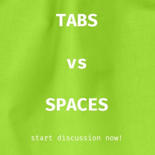 tabs vs spaces - Gymtas