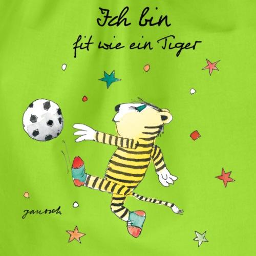 Janosch Fit Wie Der Kleine Tiger Fußball - Turnbeutel