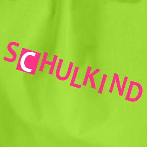 Schulkind - Turnbeutel