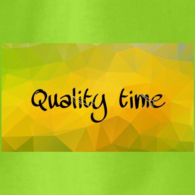 Quality time gute Zeit Familie T-Shirt Shirt