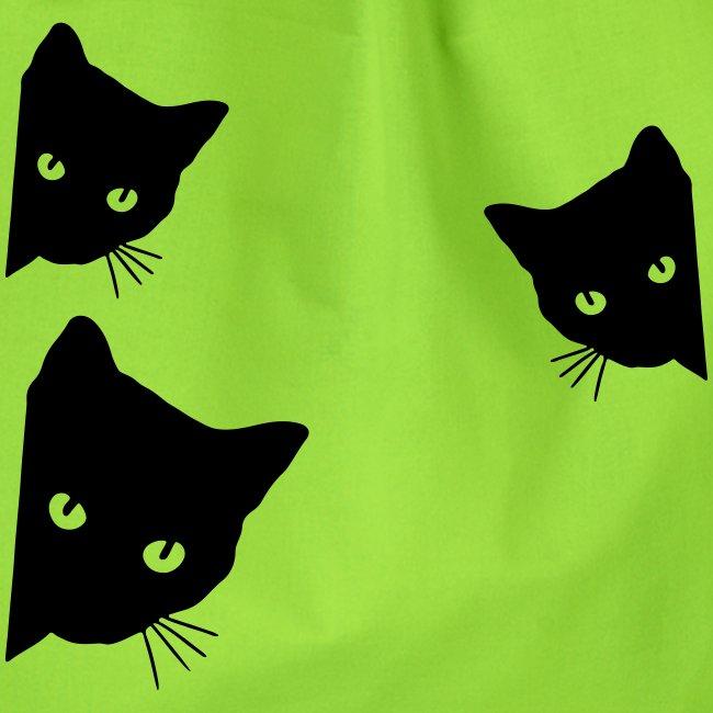 Vorschau: cats - Turnbeutel