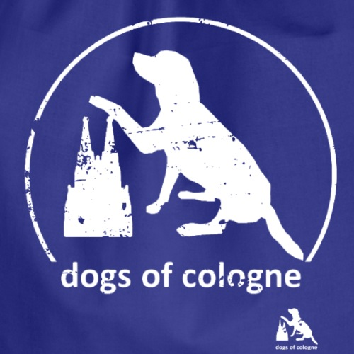 Dogs of Cologne - das Original! - Turnbeutel