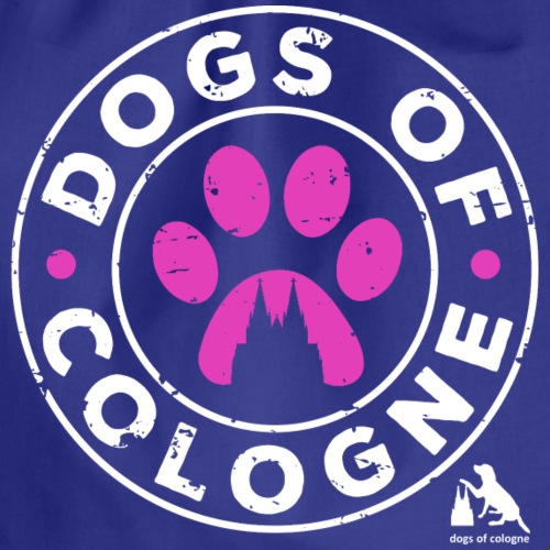 Dogs of Cologne - das Original! In Pink! - Turnbeutel