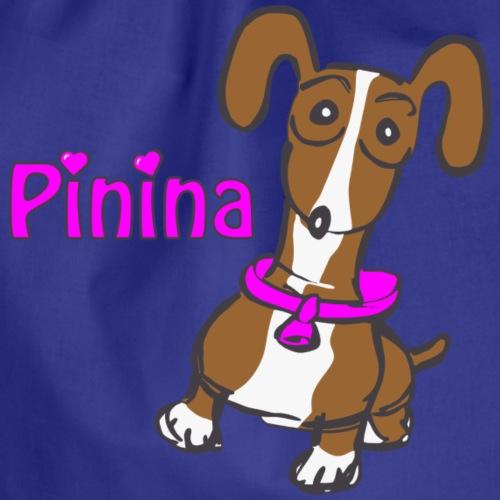 Ich liebe Pinina - Turnbeutel