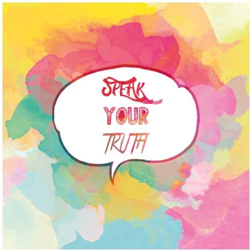 speak your truth - Drawstring Bag
