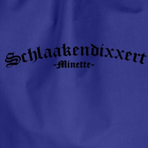Schlaakendixxert - Turnbeutel