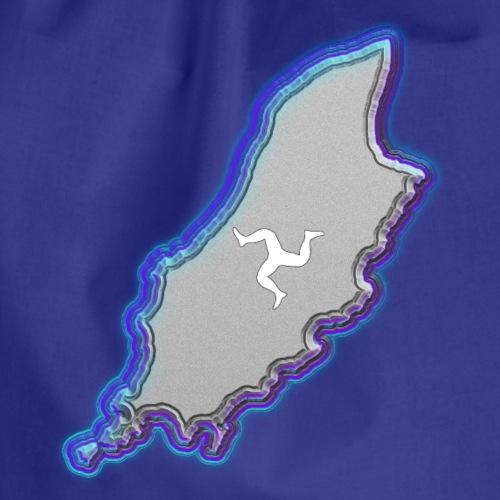 Isle of Man In Blue