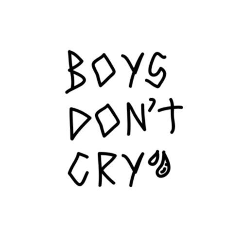 boys dont cry - Mochila saco