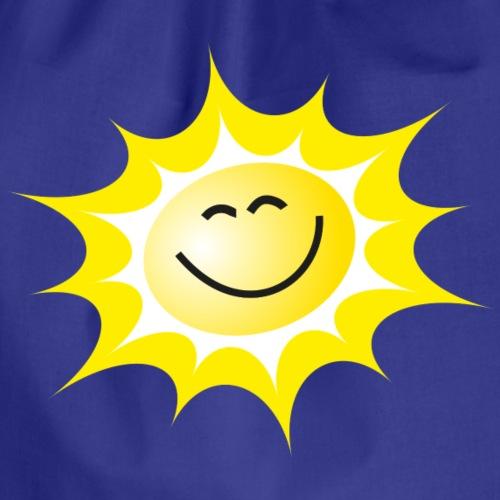 lachende Sonne - Turnbeutel