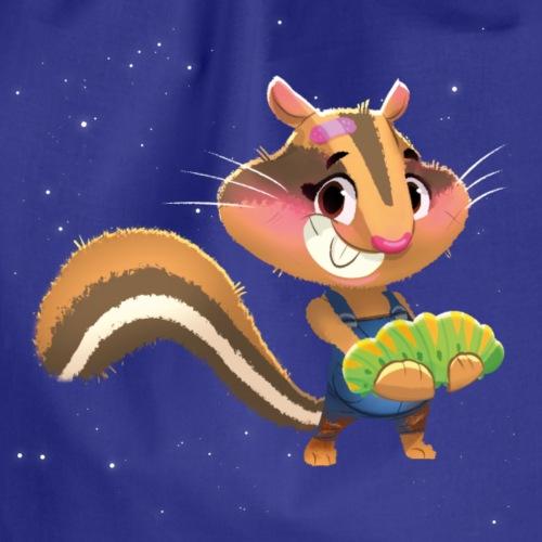 Streifenhörnchen Olivia – Waldtier für Kinder - Turnbeutel