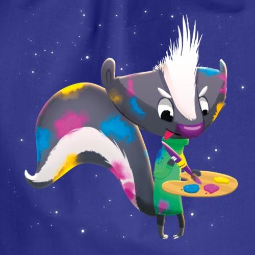 Stinktier Anton – lustiges Waldtier für Kinder - Turnbeutel