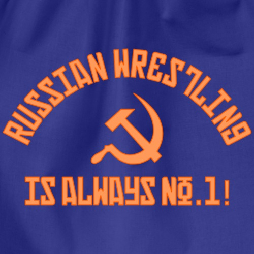 Russian Wrestling No.1 - Drawstring Bag