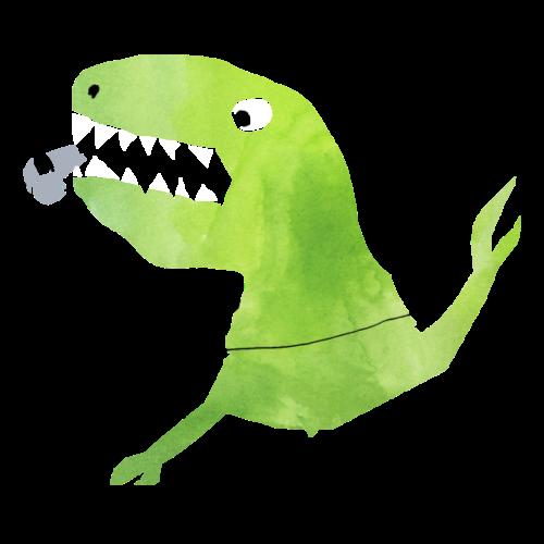 Fussball-Dino: Pfiff vom Schiri Dinosaurier - Turnbeutel