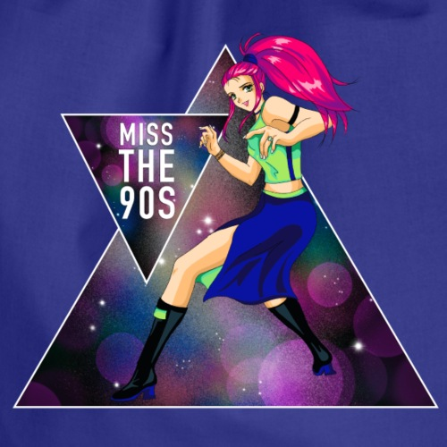 Miss the 90s - Turnbeutel