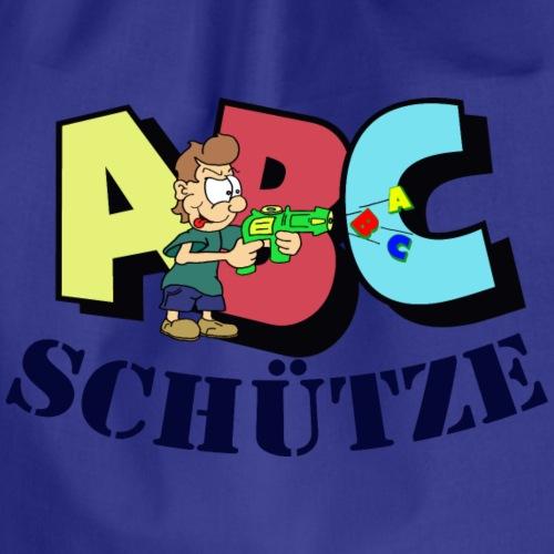 ABC Schütze - Schulanfänger - Turnbeutel