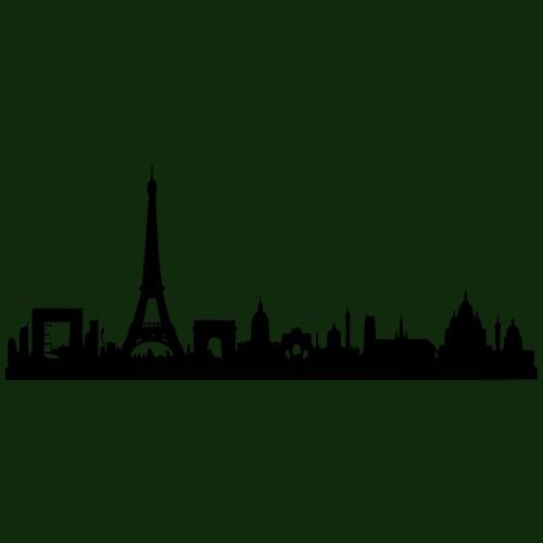 Paris Skyline - Turnbeutel