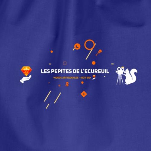 Les pépites de l'écureuil - Logo officiel - Sac de sport léger