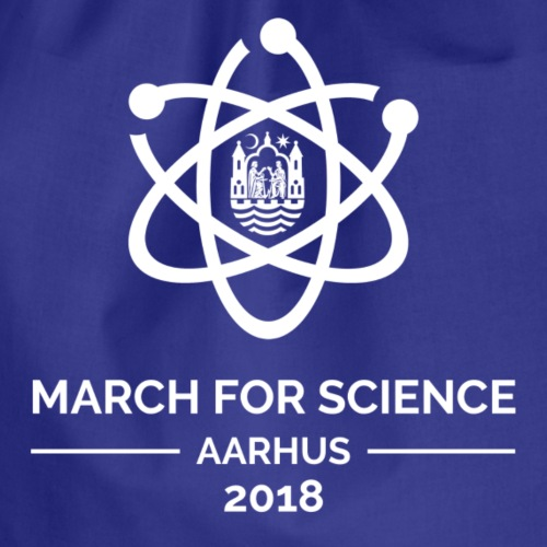 March for Science Aarhus 2018 - Drawstring Bag