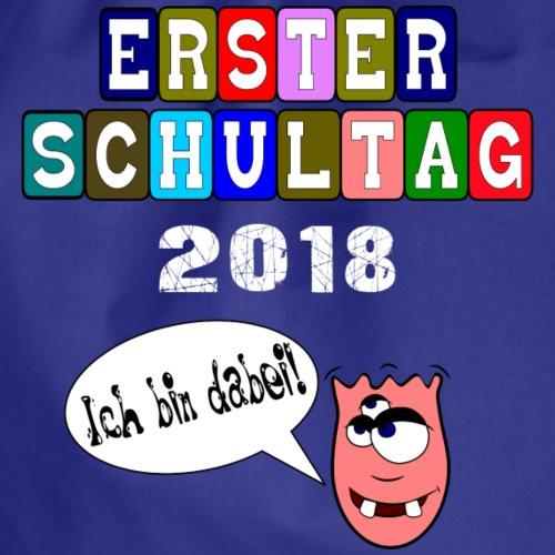 Erster Schultag 2018 - Ich bin dabei - Grundschule - Turnbeutel
