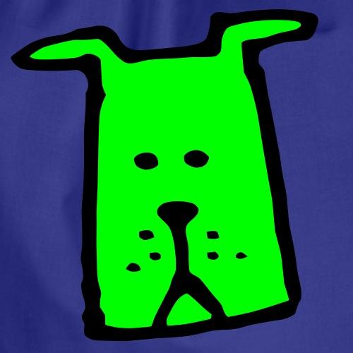süßer Hund - Design - Geschenk für Kinder - Comic - Turnbeutel