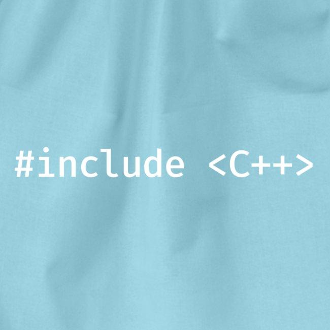 White Include Logo