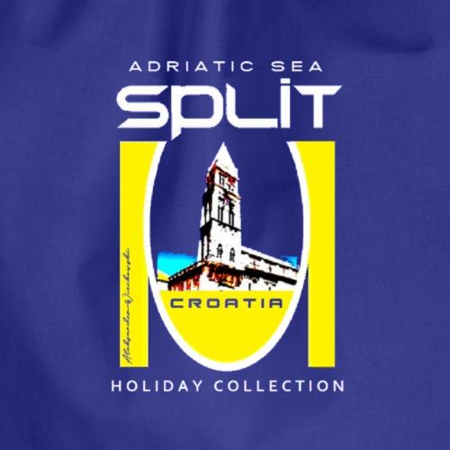 Split Croatia, T- Shirt, sehr gute Qualität - Turnbeutel