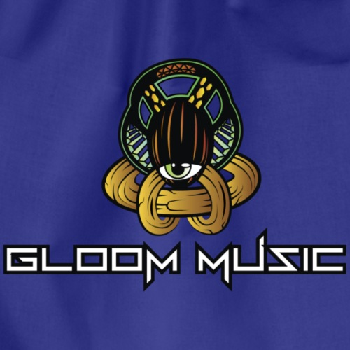 GLOOM MUSIC LOGO COLOR - Drawstring Bag