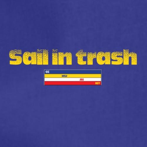 SAIL IN TRASH LOGO AMARILLO - Mochila saco