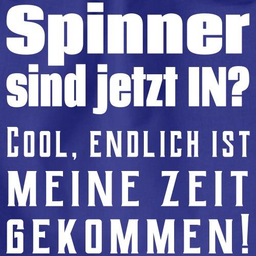 Cooler Spinner Spruch - Turnbeutel