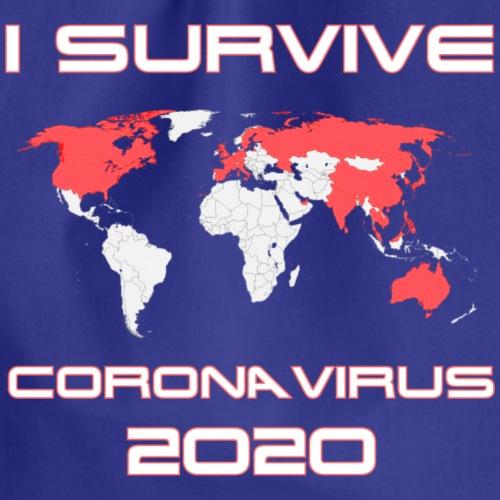 I survive coronavirus - Mochila saco